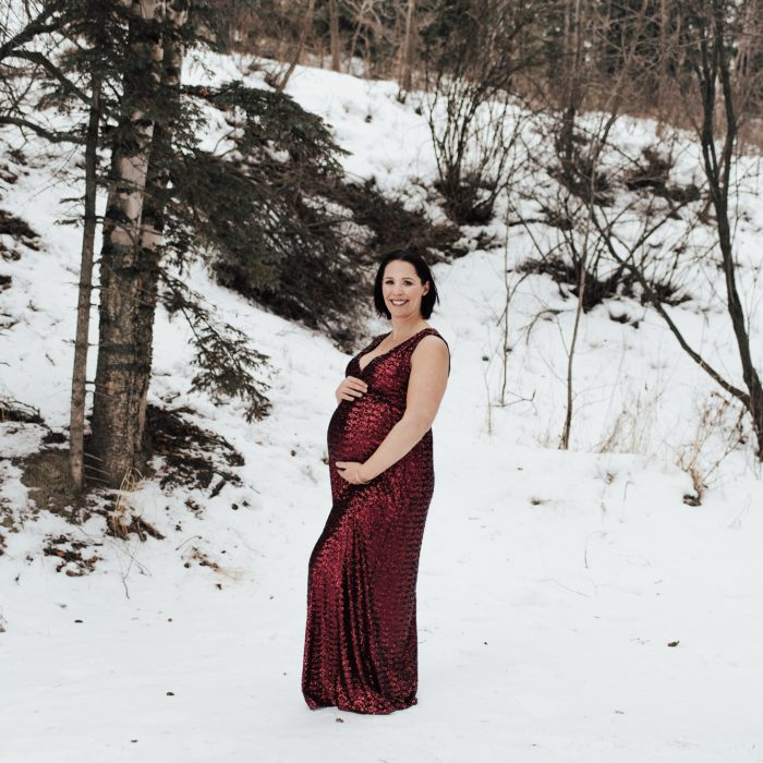 Denette is Expecting | Maternity | Red Deer, Alberta