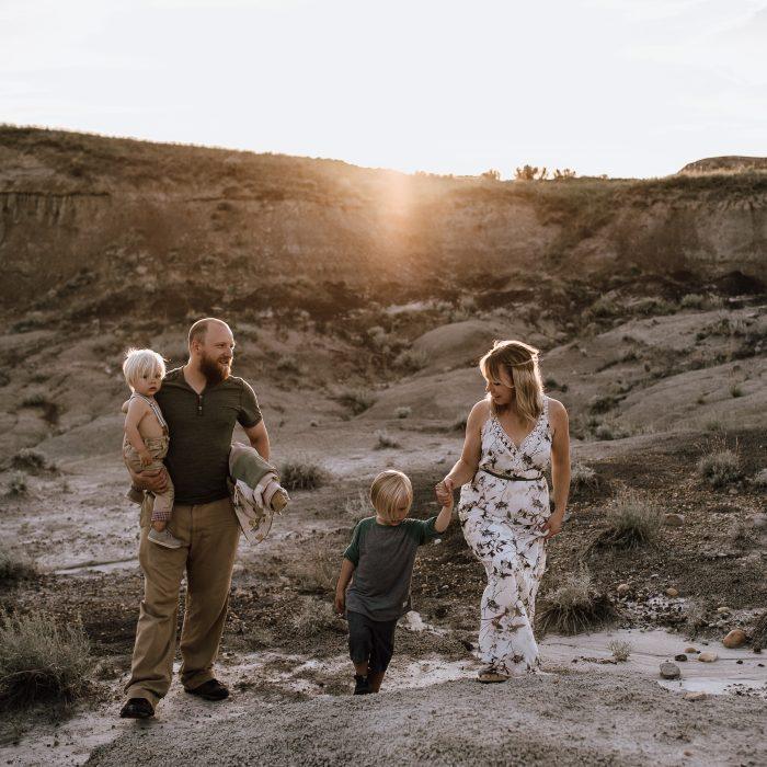 Family Adventure Session | Badlands, Drumheller