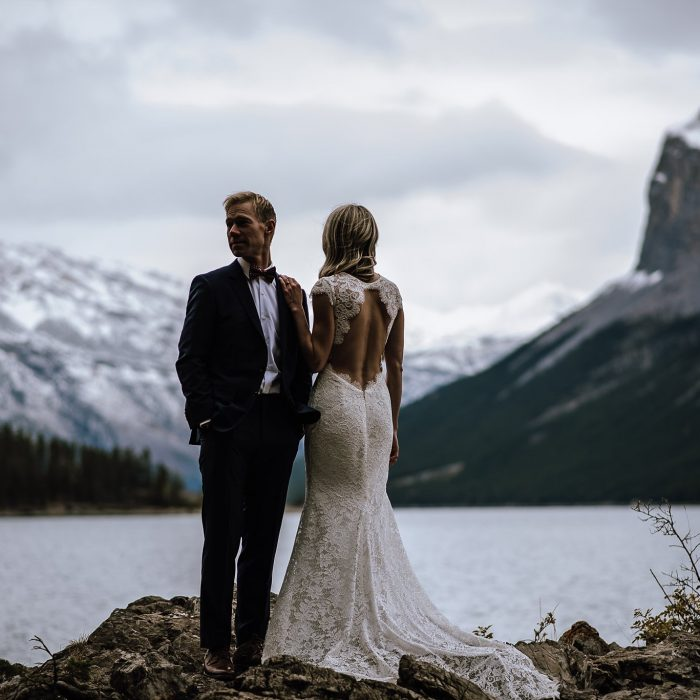 Courtney + Derek | Banff Canmore Wedding