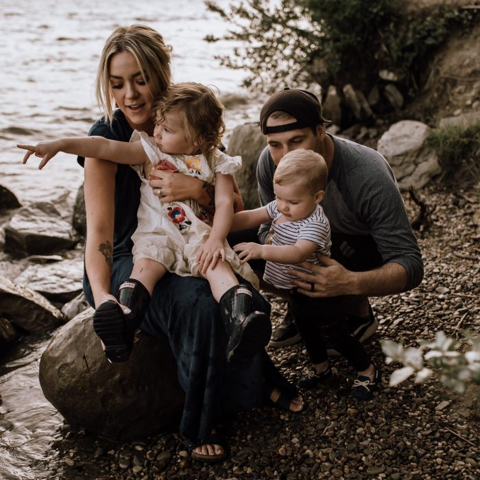 Lake Family Session | Sylvan Lake, AB