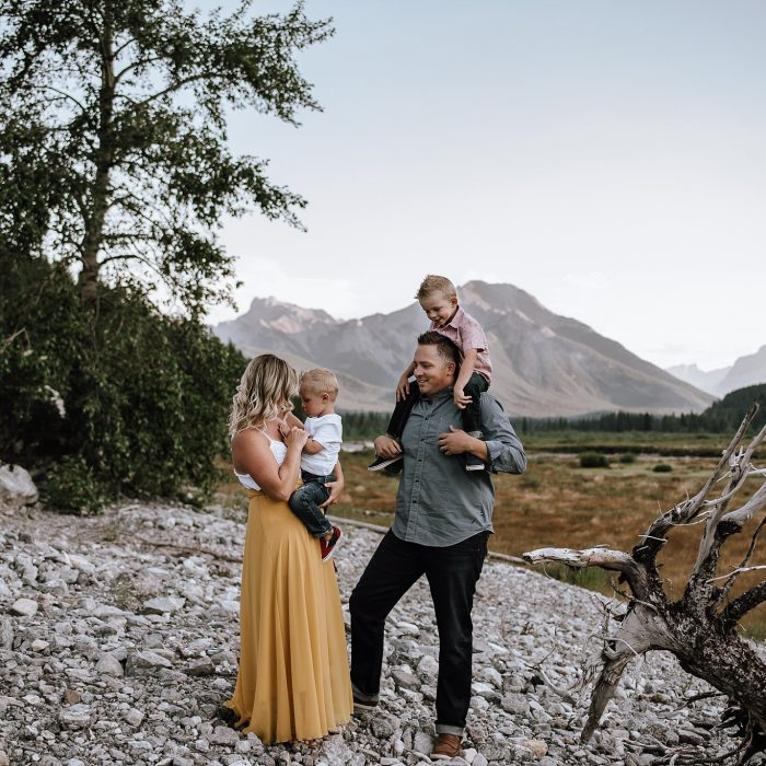 Banff Adventure Family Session | Kananaskis, AB